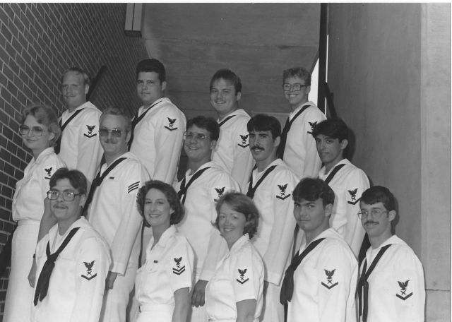 CT School Photos - Corry Station CTM Class of May 1985 - Instructor Unknown