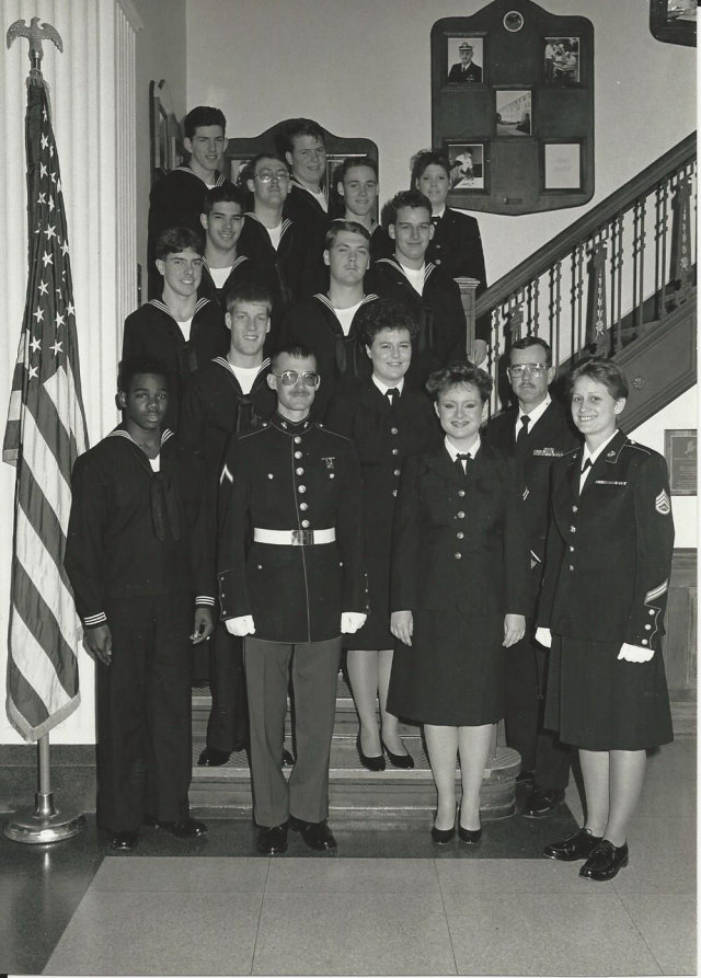 Corry Station CTO A-School of Feb 1988 - Instructor: SSGT Nancy Cogdall (USMC)