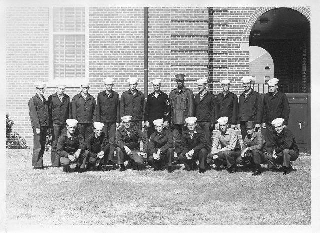Corry Field CTR School Advanced Class of Nov 28, 1969 - Instructor: CT1 Doheny