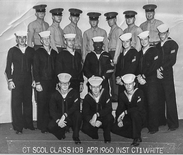 Imperial Beach (IB) Advanced Class 10B-60(R)April 1960 - Instructor CT1 White