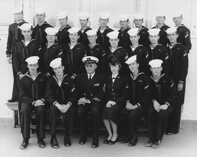 Imperial Beach (IB) Advanced Class 16-55(R) May 1955 - Instructor: CTC Lien
