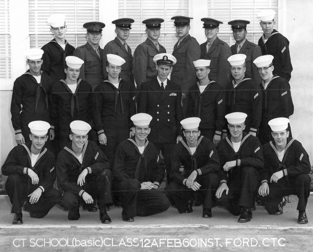 Imperial Beach CTR School Basic Class 12A-60(R) Feb 1960 - Instructor:  CTC Ford